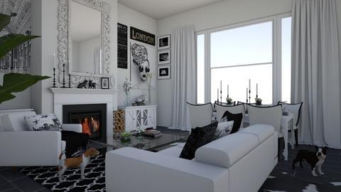 e - Living room  - by lpkinteriordesigns