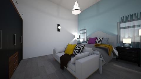 Nathalia Castillo - Modern - Bedroom  - by Gata peligrosa
