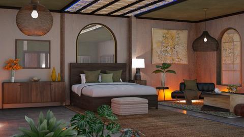 M_Silent Night - Bedroom  - by milyca8