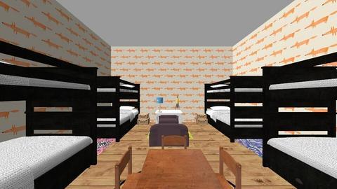 BigFamilyHome_KidsRoom - Kids room - by Norie6912