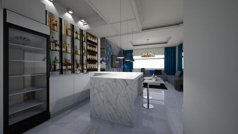 bright ohafia bar - Living room  - by jfx