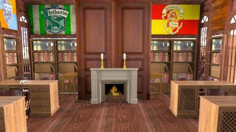 Hogwarts 1 - Classic - Office - by HGranger2