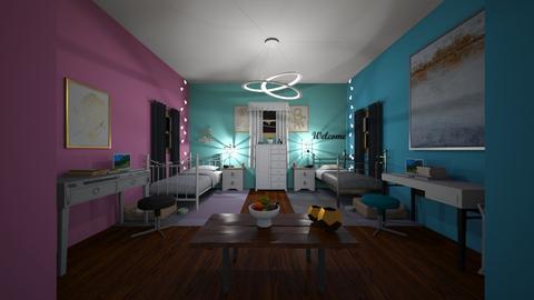 Twins Room - Kids room  - by IlI805