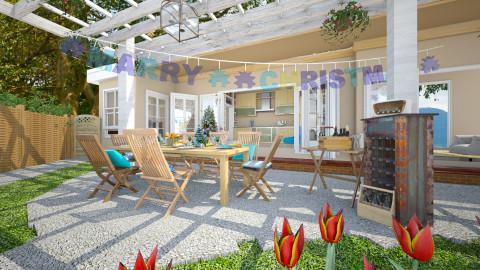 Pergola And patio Natale - Garden  - by pachecosilv