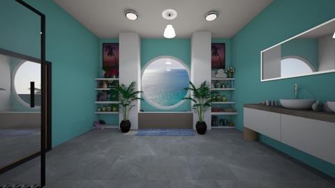 Nautical theme - Bathroom  - by Idkwhy
