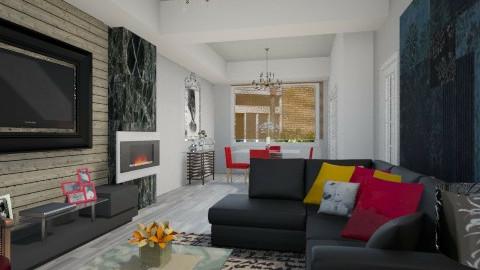 House - Living room  - by Roberta Coelho