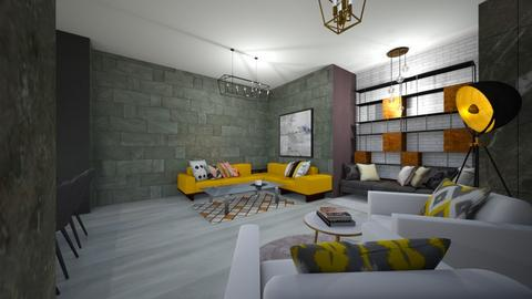 my house - Living room  - by Recep Kozan