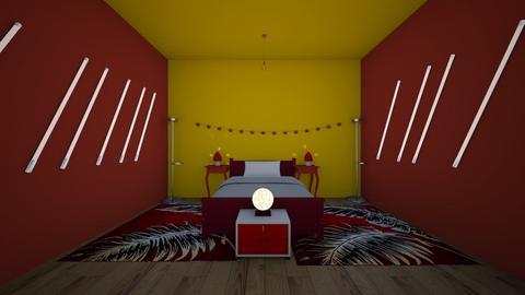 hawks room - Bedroom  - by crying_room
