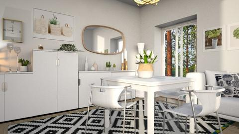 Scandinavian dining - Dining room  - by milyca8