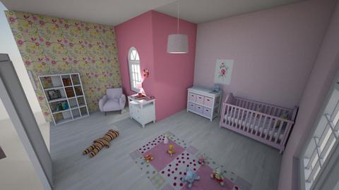 Pink baby - Kids room  - by JuriC Tina 25