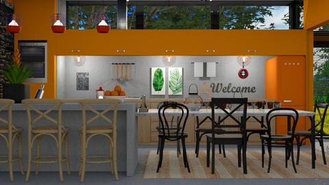 kitchen - by antonia_b