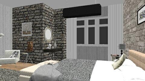 Dark walls - Modern - Living room - by GinaAlhambra