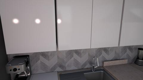 Kitchen L counter v5 tile - Kitchen  - by kurtwise