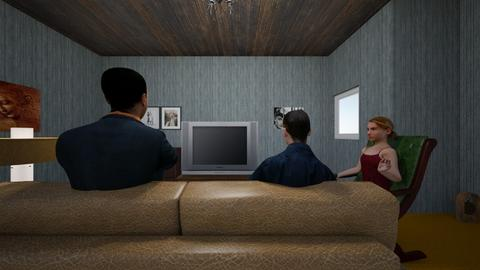 Vhall Theatre Arts - Living room  - by Vishall Rambaran