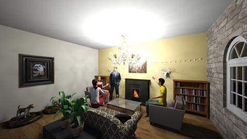 Rich man room - by roos_kusje