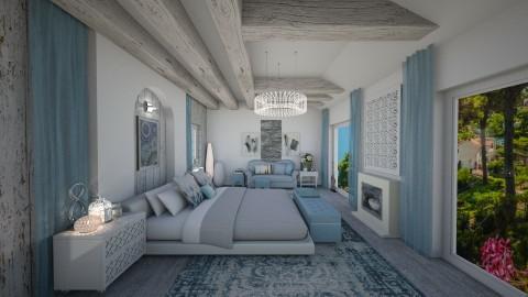 Midday in Capri - Bedroom - by deleted_1507866329_Daniela Irimia