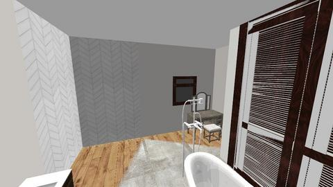 basement bathroom - Modern - Bathroom  - by msprakel