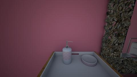 princess bathroom - Bathroom  - by Lilvamp13