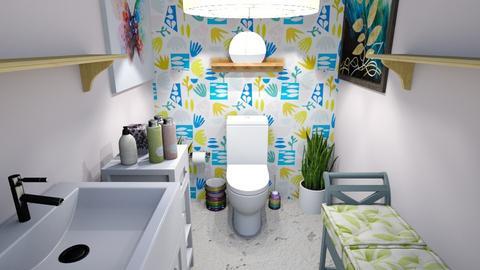 toilet - Bathroom  - by BubbleSloth