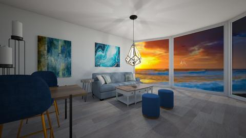 Beach Living _LilLil - Living room  - by LilLil