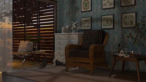 Tost an Prenestr - Vintage - Living room  - by Morna Tanguy