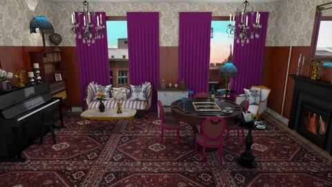 1920s Parlour - Living room  - by KarJef