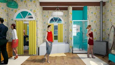 family bathroom - Bathroom - by lysha