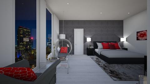 sandras - Modern - Bedroom - by Jessi Bust