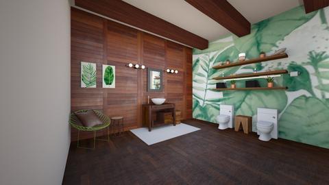 Natural Bathroom - Modern - Bathroom  - by deleted_1623825262_Lulu12345678910