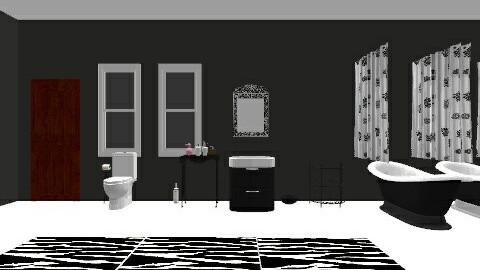 eclipse bathroom - Glamour - Bathroom  - by lelani gentry