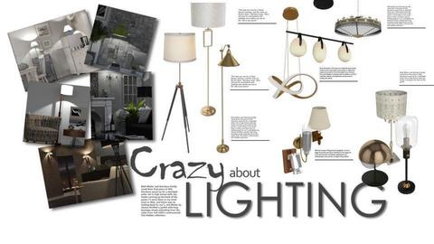 Crazy About Lighting - by GraceKathryn