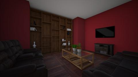 One Type Of Line room - Living room  - by KraZgood
