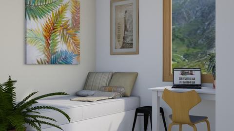 Spare Space - Modern - Bedroom  - by millerfam