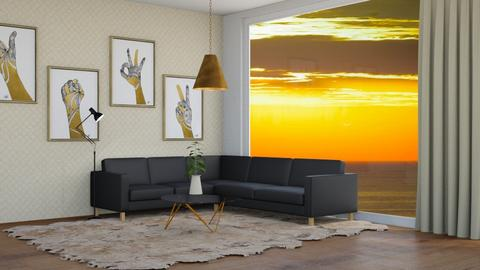 For Ash03_hope u like it - Living room  - by FANGIRLdesigner