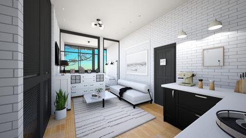 tyni house - Living room  - by rasty