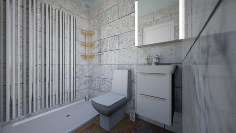 Oct11_2020_Blm_Bath - Modern - Bathroom  - by ica_angelicar