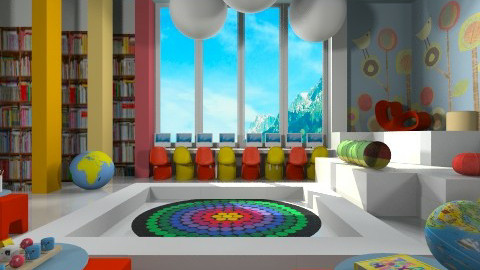 Kids Korner - Eclectic - Kids room  - by Nelly Ilieva