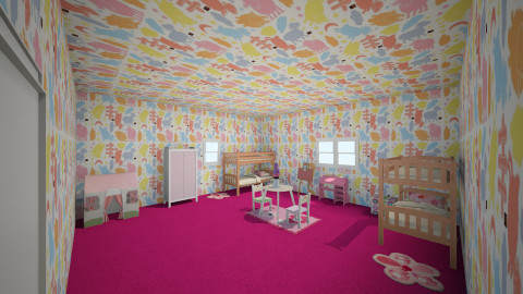 pinkie keen - Kids room - by fabulous_designs