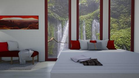rainforest vibe - Glamour - Bedroom  - by Merily