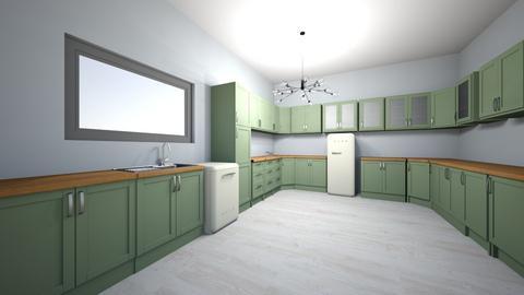 Green Kitchen - Kitchen  - by alibutts