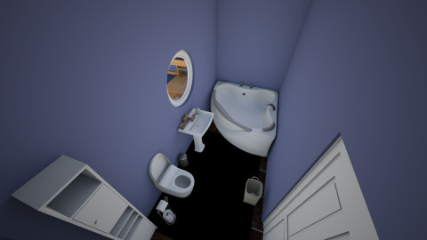Bathroom 1_2 - Minimal - Bathroom  - by gabbykay