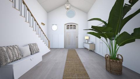 Hallway - Living room  - by jamikatj