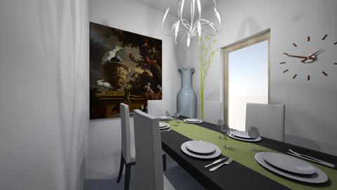 Dining in Style - Modern - Dining room - by michiah