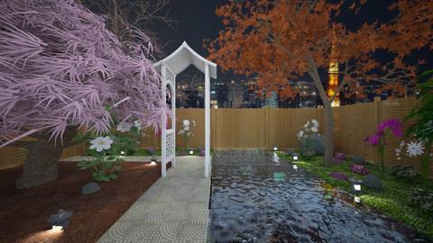Japanese Garden - Glamour - Garden  - by Han Jisung