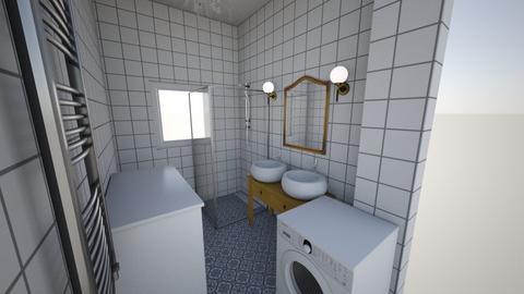Furdoszoba  - Bathroom  - by csakaii