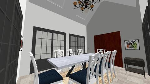 dining room - by delela