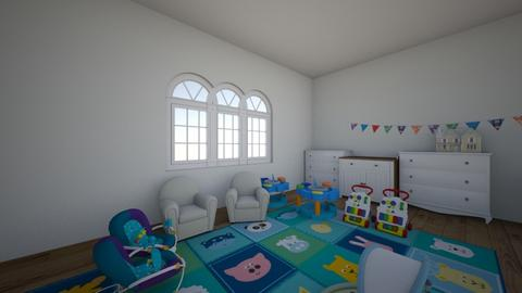 twin baby room  - Kids room  - by alexis_holden_xoxo