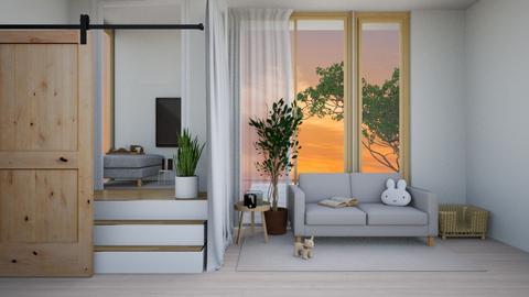 Cozy_ - Minimal - Living room  - by Muffin_yday