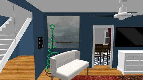 DOWNSTAIRS POSSIBILITY - Living room - by FLIPCRESTED