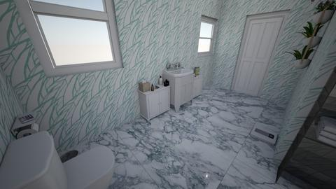 His and hers bathroom - Bathroom  - by 24jwrigh12